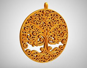 3D printable model Tree of life Necklace