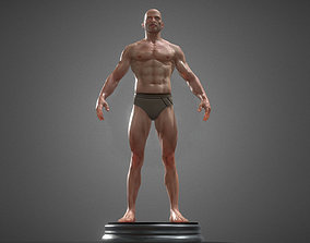 3D zbrush human anatomy
