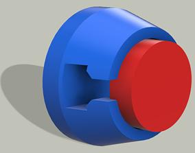 Earphone support 3D printable model