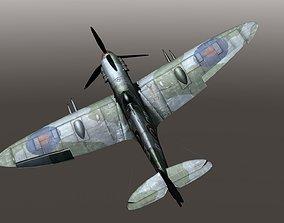 Supermarine Spitfire VB 3D asset