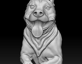 pitbull 3D print model Pitbull