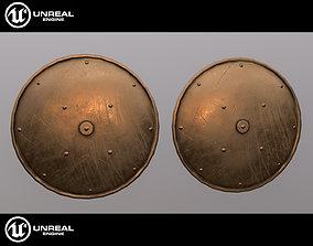Medieval shield 3D model VR / AR ready armor