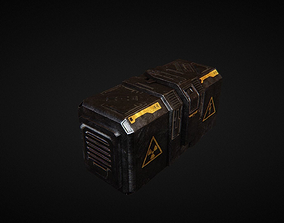 3D model Sci fi props 4 - Container