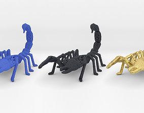 3D print model geometry Scorpion