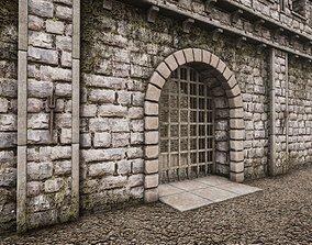 3D asset HQ Medieval Battle Arena