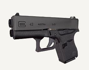3D model Glock43
