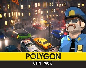 POLYGON - City Pack 3D asset