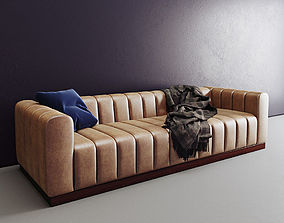 3D Forte channeled saddle sofa