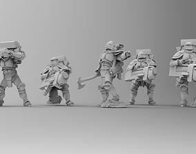 3D print model Knights of Roma - Devastation Brotherhood 2