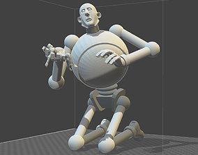 KELLY FREAS ROBOT 3D print model