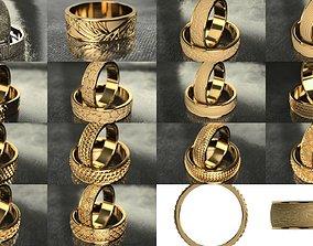 3D engagement rings