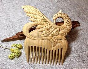 3D Comb peacock