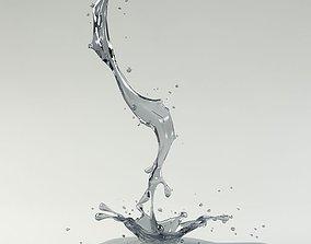 3D model Splash 03 water