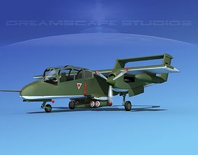 Rockwell OV-10 Bronco Germany 3D