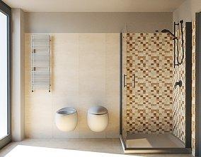 3D Bathroom faucet interior-design