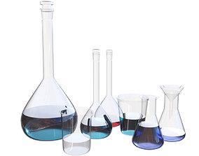 3D Laboratory equipment 02