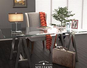 3D Williams-Sonoma Cabinet
