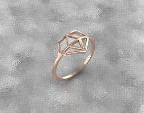 brilliant symbol ring 3D print model