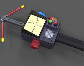 Cosplay Psychokinetic Energy Meter from 3D printable model