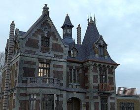 3D model Abandoned Mansion