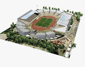 Brisbane ANZ Stadium 3D asset VR / AR ready