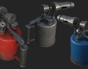 3D model Old Blowtorch PBR