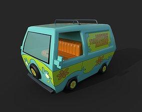 Scooby Doo van 3D asset