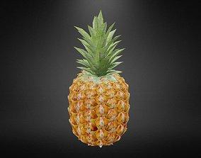 Pineapple 3D model game-ready