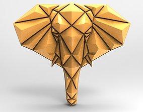3D printable model Geometric elephant