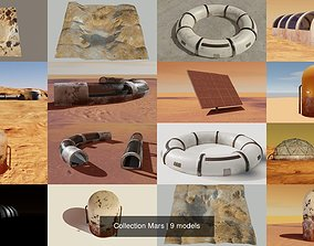 Collection Mars 3D