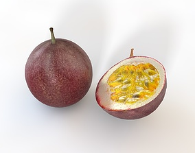 Passion Fruit 3D model