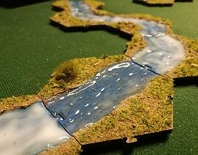 3D print model BattleHex river set 01