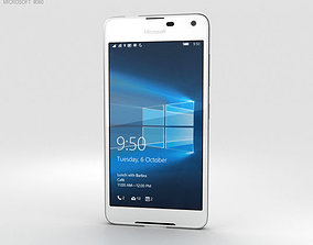cell Microsoft Lumia 650 White 3D model