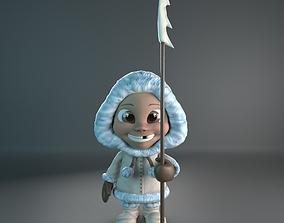 3D print model Eskimo