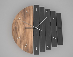 3D model second Clock Design