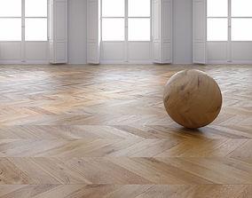 3D model Oak Chevron floor