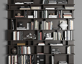 Cattelan Wally Bookcase library 3D