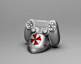 3D model soporte control ps4 resident evil