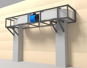 3D model Ventilation box