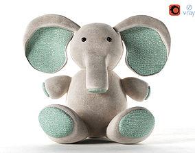 3D model Elephant Toy