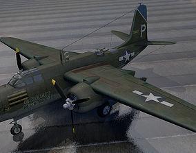 3D model Douglas A-20G Havoc