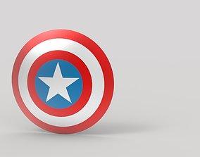 ironman Captain America Shield 3D model