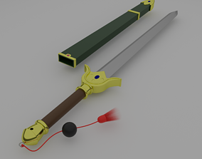 Syarona Sword from Cardcaptor Sakura 3D printable model