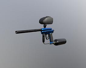 Modular Paintball Gun 3D asset
