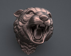 Panther head 3D printable model