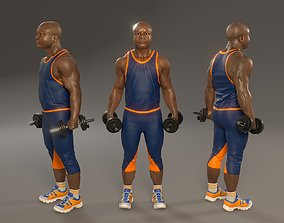 Fitness Male ABL 3140 0001 3D asset