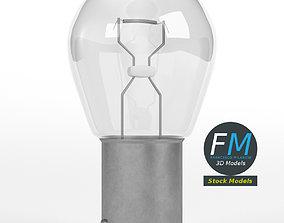 12V incandescent car light 3D model