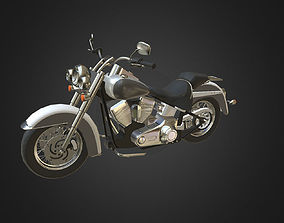 3D model Harley-Davidson
