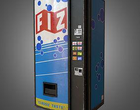 3D asset Soda Vending Machine - PBR Game Ready