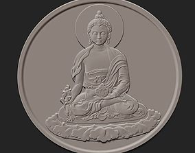 Buddha coin 3D printable model